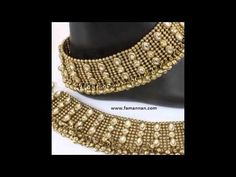 Anklet Pazeb New Marriage Fashion Gold Silver Collection.