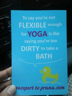I love HOT yoga!