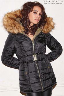 9799e2ccc37 Lipsy Loves Michelle Keegan Reversible Puffer Coat Michelle Keegan, Winter  Coat, Lipsy, Bomber