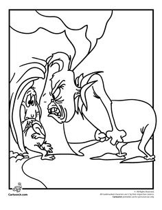 dr seuss the grinch coloring pages - Google Search