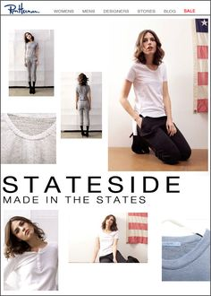 Stateside Fall Collection   Made in the States