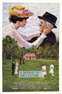 A Sunday in the Country (1984-France) Popular Movies, Latest Movies, Movies 2019, Hd Movies, London Films, Best Cinematography, Best Director, Shall We Dance, Movies Playing