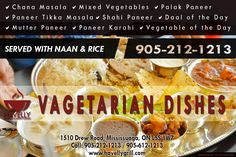 Find the best Vegetarian Dishes In Mississauga Only At Havelly Grill ! For More Info Call 905 212 1213 & 905 612 1213 #vagetarian #foodie #travel #restaurant #canada #catering #restaurant