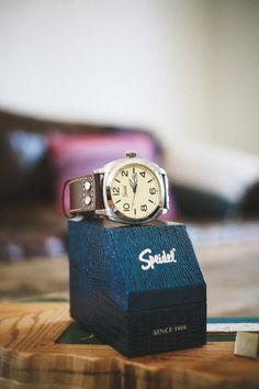 Engraved Pilot Quartz Watch for Groomsmen. Available in 2 Colors