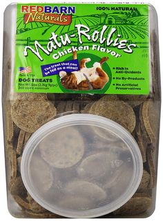 REDBARN PET PRODUCTS 416303 Redb Natu-Rollies Chicken Biscuit for Pets, 5-Pound ** Remarkable product available now. : Dog treats