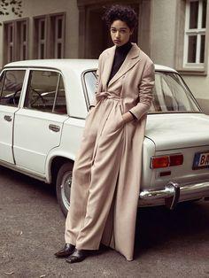 'The Beat Generation' (Vogue UK October 2015), Damaris Goddrie shot by Karim Sadli and styled by Francesca Burns.