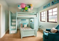 Etagenbett Dreistöckig : Bunk beds twin over stairway white trundle jungen girls