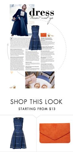 """""""Throw on a Dress and Go!"""" by mgoslin on Polyvore featuring Anja, Oscar de la Renta and Dorothy Perkins"""