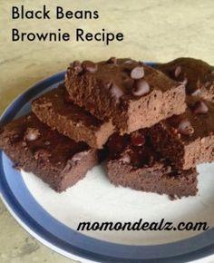 Black Beans Brownie Recipe