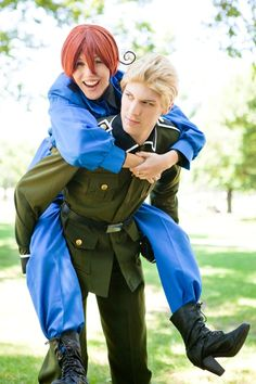 Doitsu and Hetalia http://youtu.be/HmSbVUhHQj8 watch this all the way till the end it is funny