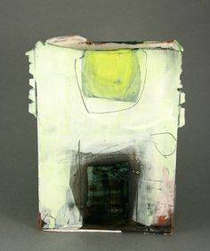 Slab Vessel with Green by Barry Stedman