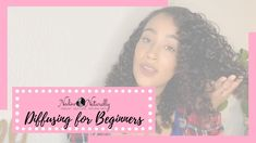 Want to diffuse your natural hair? Here are some tips! African Natural Hairstyles, Natural Hair Styles, Diffuser, About Me Blog, Content, Tips, Nature, Youtube, Naturaleza