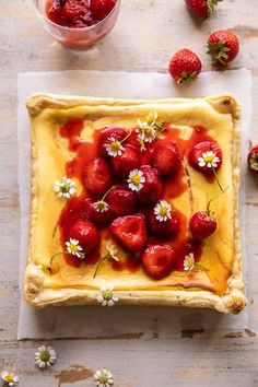 Frozen Puff Pastry, Classic Cheesecake, Half Baked Harvest, Frozen Strawberries, My Best Recipe, Recipe Filing, Ice Cream Recipes, Dessert Recipes, Sweet Desserts