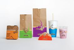 Burgerville sustainable packaging by BRIGADE, the design team and an integrated part of N2O Group.
