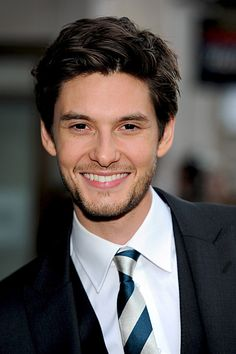 Ben Barnes...Classic definition of handsome and he has a wonderful smile. Short hair or long hair is fine with me. I just want to see him more.