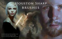 Houston Sharp Photoshop Brushes DOWNLOAD HERE