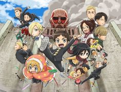 Attack on Titan Junior High Ep 12 720p Mkv