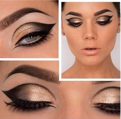 Perfect eye look for a spartan queen :D
