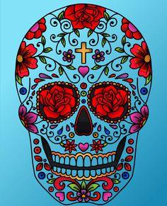 Psicodelic Skull