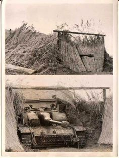 EXAMPLE OF U STUG III TANK CAMOUFLAGE, PROBABLY RUSSIAN FRONT
