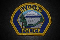 Redding Police Patch, Shasta County, California