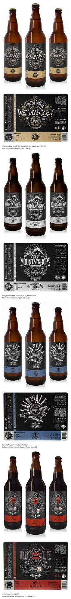 Label / Canadian Band Beer by Ben Didier