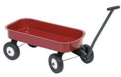 Metalowy wózek do ciągnięcia dla dzieci dziecka