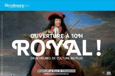Les onze musées de la Ville de Strasbourg, accueillant chaque année plus de 500 000 visiteurs sont riches. C'est l'idée de la campagne VO qui fait la part belle aux mots-musées : Royal ! Chapeau ! Géant !  #Strasbourg #Musées #AgenceVO