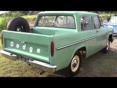 Dodge D100 1971 e Dodge Dart Hang Ten 1974 na volta de Águas de Lindói... Old Dodge Trucks, Dodge Pickup, Old Pickup, Dodge Cummins, Gm Trucks, Cool Trucks, Pickup Trucks, Dodge Dart, Vintage Trucks