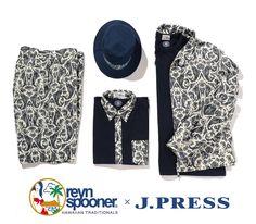 reynspooner x J.PRESS