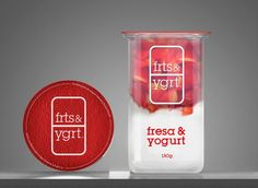 Cool yoghurt packaging/designs