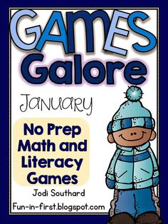 January Games Galore NO PREP Games
