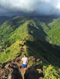 Maunawili Falls Trailhead, Maunawili, Oahu, Hawaii - This...