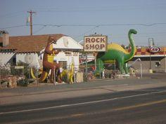 ROCK SHOP.......Route 66....... Holbrook, Arizona