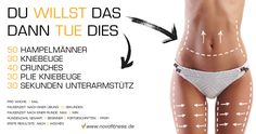 Training mit dem eigenen Körpergewicht für Bauch Beine und Po https://www.youtube.com/watch?v=bWcCH3lDUdo&list=PLAQdQg-Vub-JVRfIi3i9DQEZFtAa4sPAz&index=3