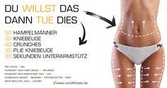 Training mit dem eigenen Körpergewicht für Bauch Beine und Po. Maximale Fettverbrennung: http://www.amazon.de/gp/product/B00HFN7MQK?*Version*=1&*entries*=0