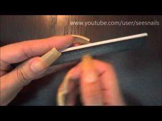 Rambling Filing My Long Natural Nails v.1