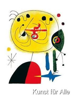 Joan Miró - And Fix the Hairs of the Star