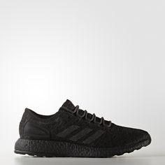 989559e14a3673 Adidas Pure Boost ATR Triple Black Boost Shoes
