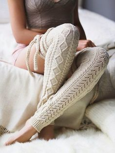 Cozy Chambers Wrap Leg Warmer: for those last chilly days