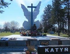 Katyn monument Chicago