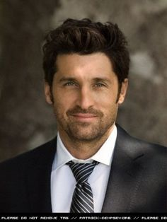 Here's another reason I love Grey's.. love him with alittle scruff!