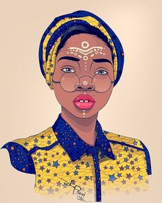 TWO NIGERIAN ARTISTS CELEBRATE IGBO CULTURE AND NOLLYWOOD LEGENDS WITH BRILLIANT ILLUSTRATIONS