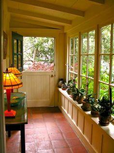 Enclosed Front Porches, Enclosed Patio, Small Porches, Screened Porches, Small Sunroom, Sunroom Dining, Small Patio, Small Conservatory, Conservatory Interiors