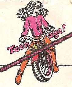 Teenage fashion logo - 1970