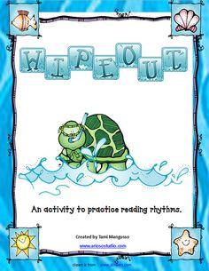 Turtle Rhythm Reading Game