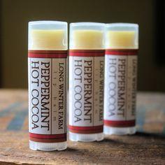 Peppermint Hot Cocoa Lip Balm - Long Winter Soap Co.