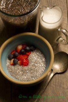 Chia Seed Pudding #chia  #chiaseed #chiaseedpudding