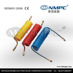 pneumatic pipe hose polyurethane PU tube truck air brake coil hose