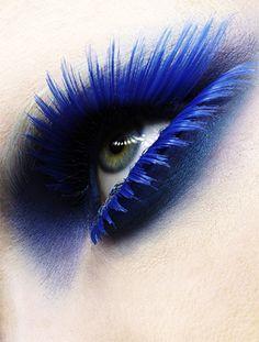 blue falsies